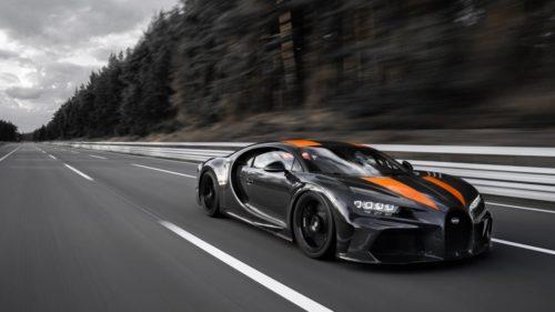 Watch the Bugatti Chiron smash the 300 mph world record