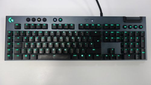 Logitech G815 Lightsync RGB Keyboard Review
