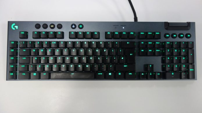 Logitech G815 Lightsync RGB Keyboard Review