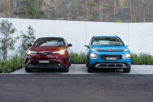 2019 Citroen C3 Aircross Shine v Toyota C-HR Koba Comparison