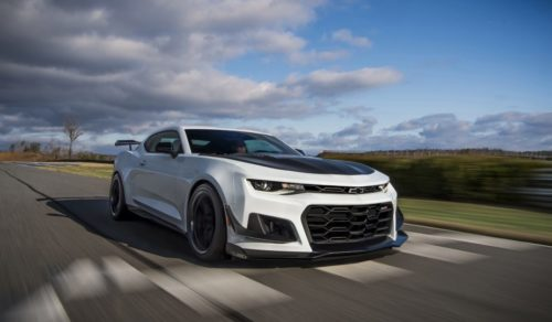 Watch the Chevrolet Camaro ZL1 Hit 142 MPH