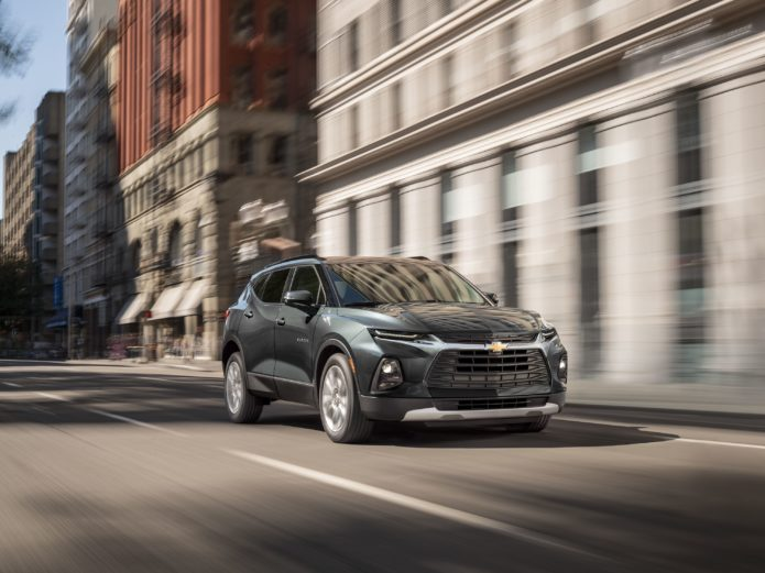 2020 Chevy Blazer Adds Turbo 2.0L Four-Cylinder Starting at $33,995