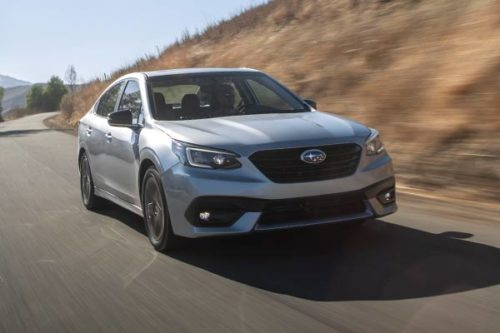 2020 Subaru Legacy Review