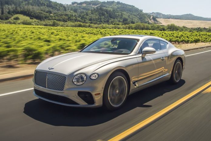 2020 Bentley Continental GT V8 Gives up Almost Nothing to the W12