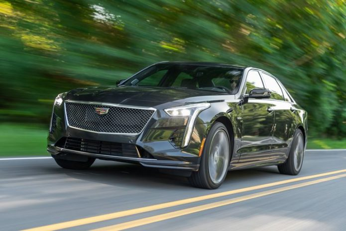 A 550-HP V-8 Probably Can't Save the 2020 Cadillac CT6-V