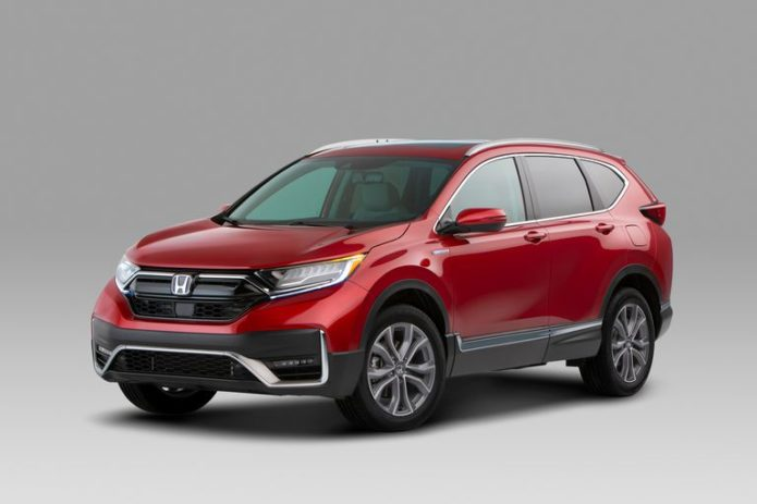 2020 Honda CR-V Adds a Hybrid Model and Gets a New Look