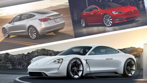 2020 Porsche Taycan Vs Tesla Model S & Model 3: How Do They Compare?