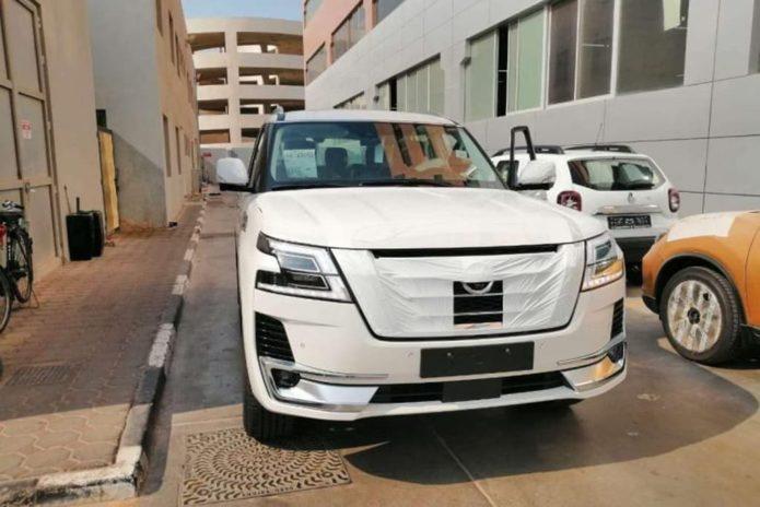 Facelifted Nissan Patrol leaked
