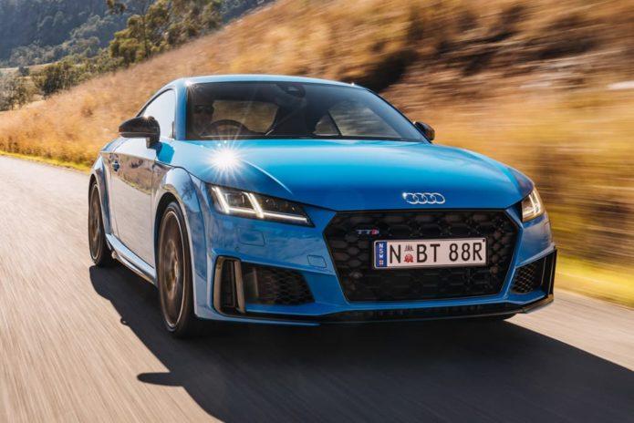 Audi TT facelifted, range cut back