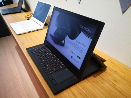 Acer at IFA 2019: Why we're not putting 10th gen in ConceptD laptops… yet