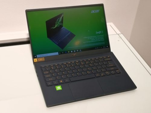 Hands on: Acer Swift 5 at IFA 2019 Review