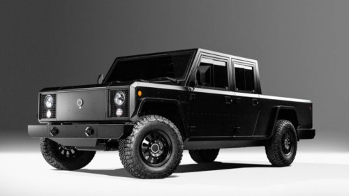 Bollinger Motors electric B2 pickup and four-door B1 truck revealed