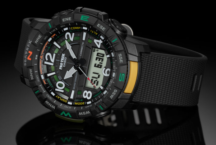 PRO TREK PRT-B50 : Casio's Affordable New Outdoor Watch Offers More Tech Than Ever