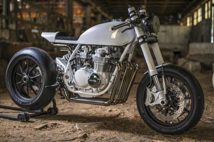 DUKE MOTORCYCLES HONDA CB500 FOUR CAFÉ RACER: BUILDER INTERVIEW
