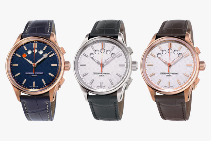 FREDERIQUE CONSTANT YACHT TIMER : This Classically Styled Watch Looks Totally Different from Most Modern Chronographs