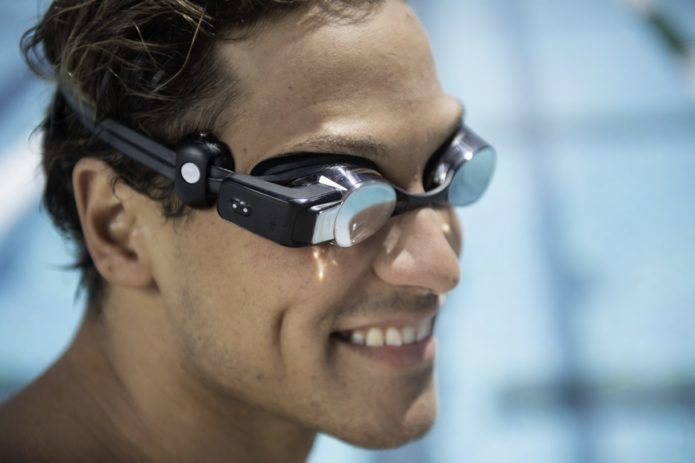 Form and Polar made heart rate-tracking AR swim goggles: and they look awesome