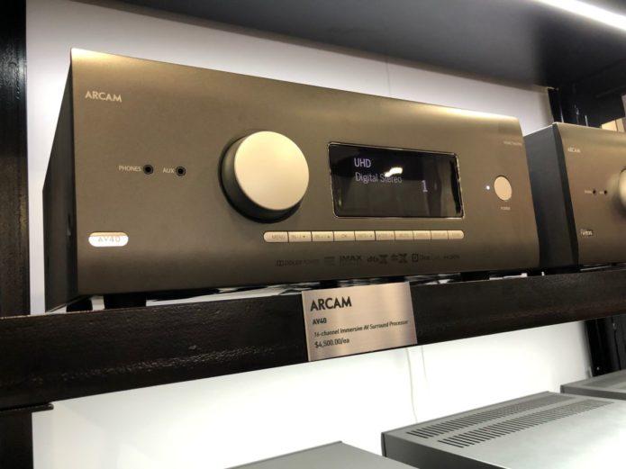 Arcam reveals complete new AV receiver range at CEDIA Expo