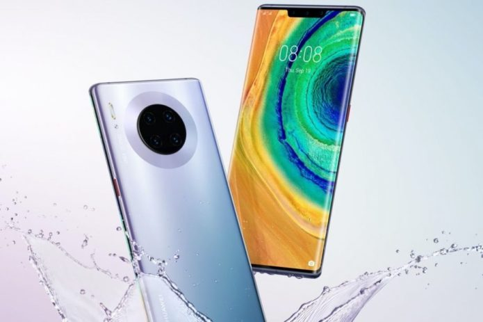 Huawei's Mate 30 range has three different notch styles