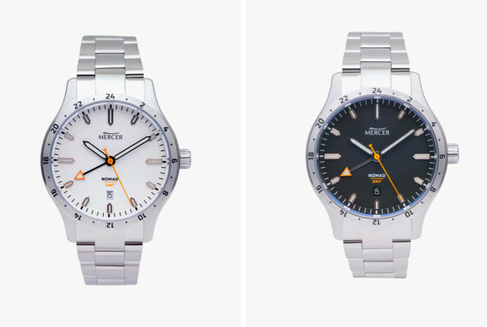 MERCER NOMAD : This New Automatic GMT Watch Is Less Than $700