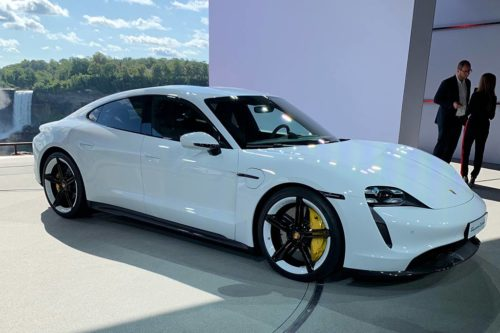 2020 Porsche Taycan: First Look