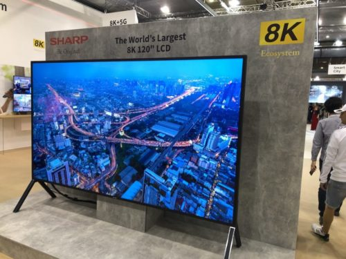Hands on: Sharp 120-inch 8K TV Review