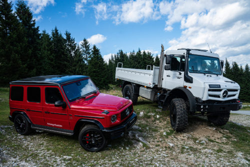 Testing Mercedes-Benz's Toughest Off-Roaders in Their Natural Habitat