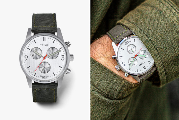 TRIWA HUMANIUM 2.0 : This Affordable Watch Uses Metal from Salvaged Illegal Firearms