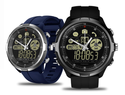 Zeblaze Hybrid Review – A Mechanical SmartWatch with e-ink display and battery for up to 7d/3y