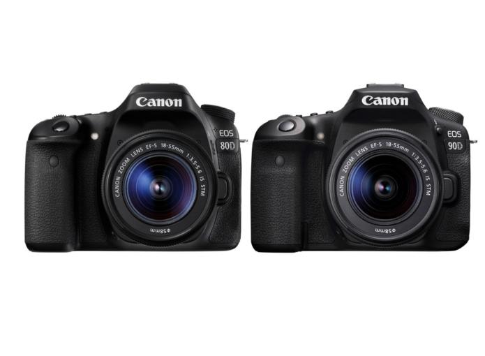 Canon EOS 90D Vs Canon EOS 80D Comparison