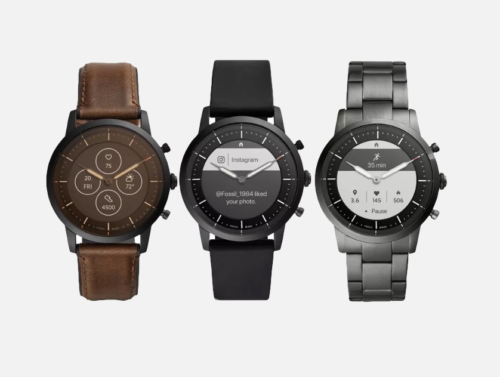 And finally: Fossil Collider hybrid smartwatch with e-ink display gets detailed