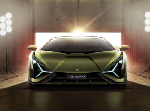 Lamborghini Sián Kicks Off Lambo's Hybrid Era with 807 HP and a 218-MPH Top Speed