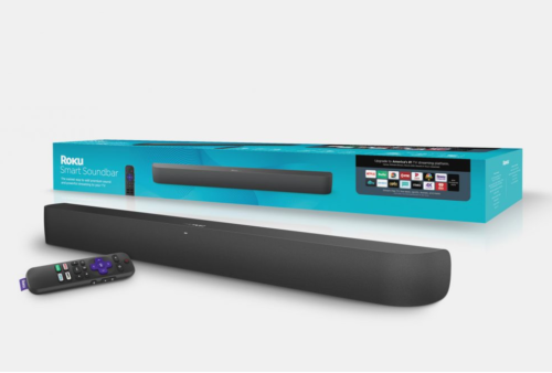 Roku's new Smart Soundbar has a built-in 4K HDR Roku Player