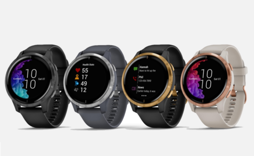 Garmin Venu full-AMOLED smartwatch offers five day battery