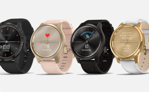 Garmin Vivomove Luxe is a hybrid that features dual displays