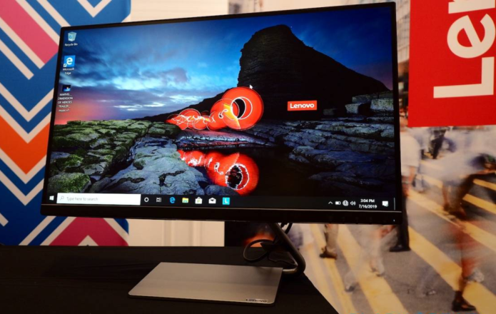 Lenovo ThinkVision S28u, Q24i, and Q27q FHD and 4K displays revealed
