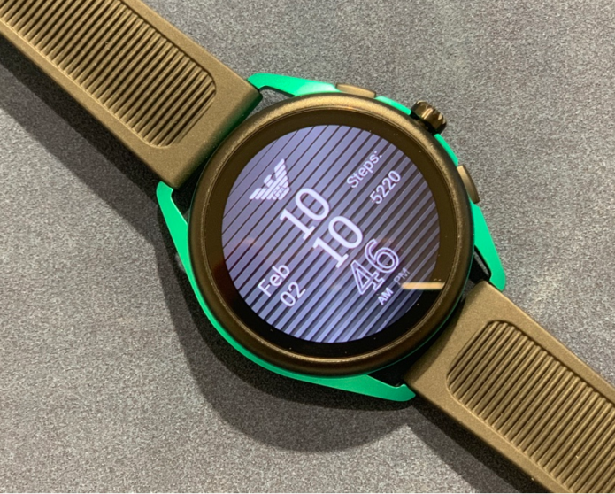 Emporio Armani Smartwatch 3 Hands-on Review : First look - More sport, less serious