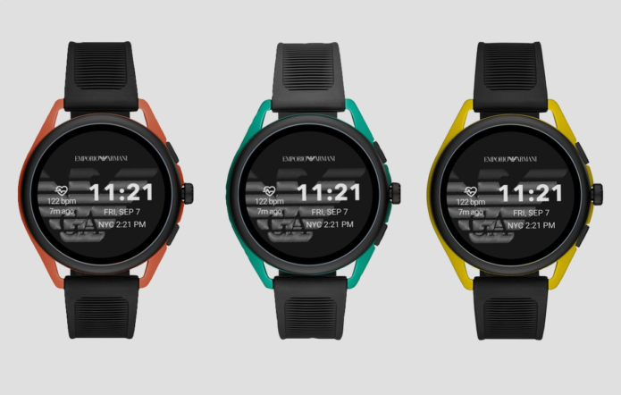 Emporio Armani Smartwatch 3 unveiled with speaker to take calls from the wrist