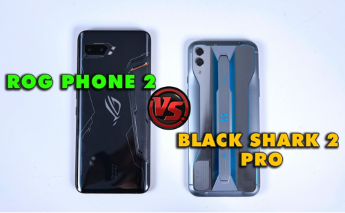 ASUS ROG Phone 2 vs Black Shark 2 Pro: Battle Of The Titans