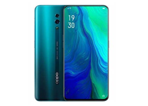 OPPO Reno A Exposed New Renderings: Rear Dual Camera, Water Droplets Full Screen