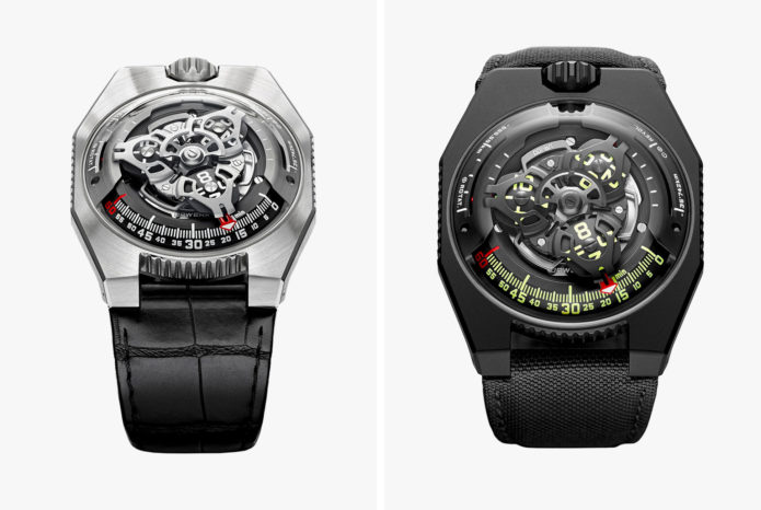 URWERK UR-100 - This Watch Gives You Totally Useless Information. But It's Just So Damn Cool