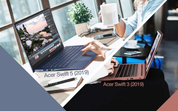 Acer Swift 5 and 3 gain Intel 10th Gen Ice Lake, NVIDIA GeForce MX250