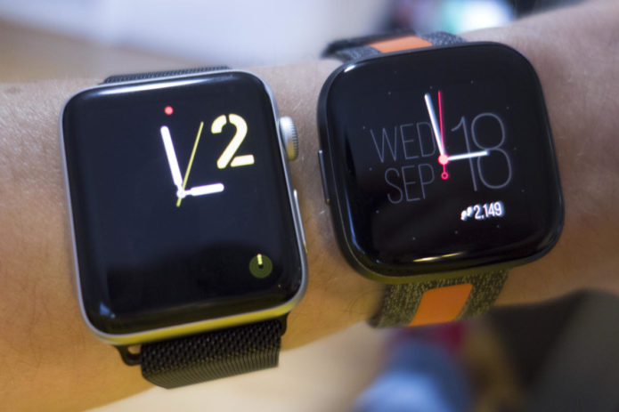 Apple Watch Series 3 vs Fitbit Versa 2: Even a two-year-old Apple Watch is hard to beat