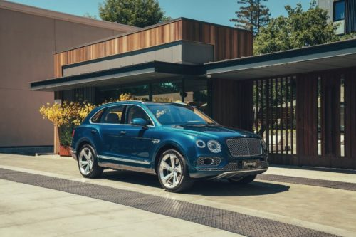 Bentley Bentayga Hybrid unveiled