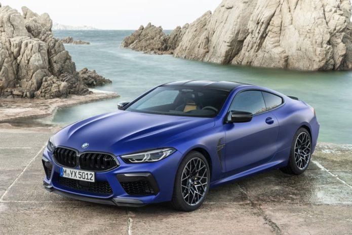 Fiery BMW M8 here early 2020