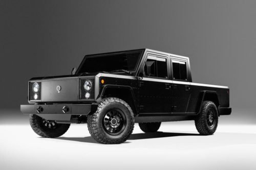 Bollinger unveils 2021 SUV and pick-up EVs