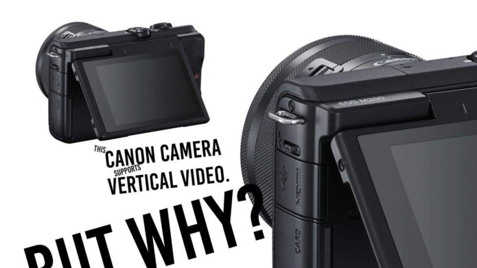 Canon EOS M200 release date and price revealed with vertical video support