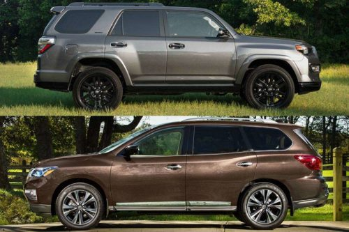 2019 Toyota 4Runner vs. 2019 Nissan Pathfinder: Which Is Better?