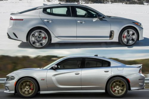 2019 Kia Stinger vs. 2019 Dodge Charger: Which Is Better?