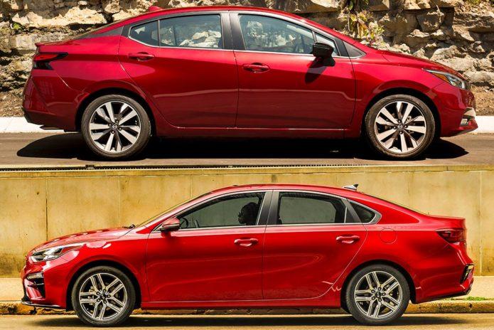 2020 Nissan Versa VS 2020 Kia Forte