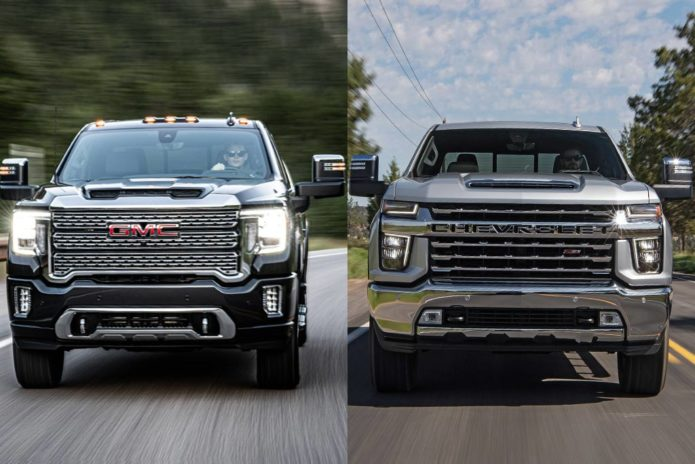 2020 GMC Sierra HD VS 2020 Chevrolet Silverado HD